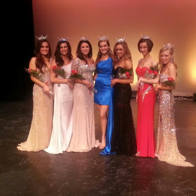 Kaitlin with Martinsburg Sweeps winners