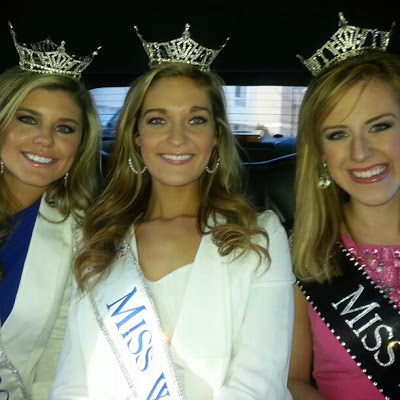 Kaitlin with Miss Virginia and Miss NC