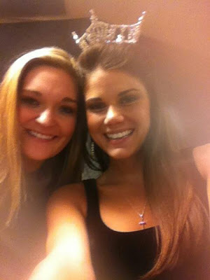 Kaitlin with Miss Maryland Joanna Guy